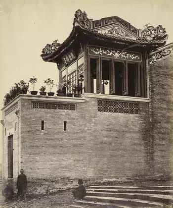 中國最早的照片之一,英法聯軍隨軍記者拍攝的廣州,150年前!