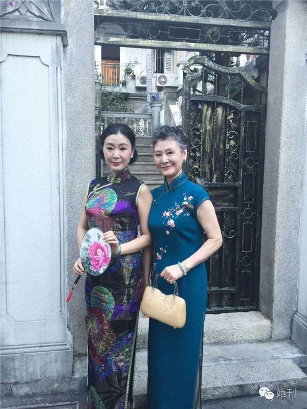 她73歲,福建人,勞碌一生退休後,參加旗袍選美、走西藏、騎哈雷,時尚到不行!