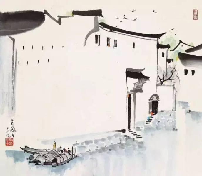 杭州有一組房子成了「網紅」,活生生的水墨江南。