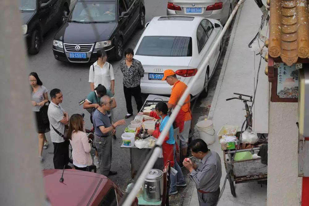 圖集 / 捕捉快速消失的老北京-各式各樣的【早點攤】。